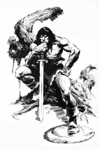 Il Conan cupo e grottesco di John Buscema - un'icona immortale