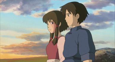 Arren e Tehanu in versione Conan ragazzo del futuro e Lana...