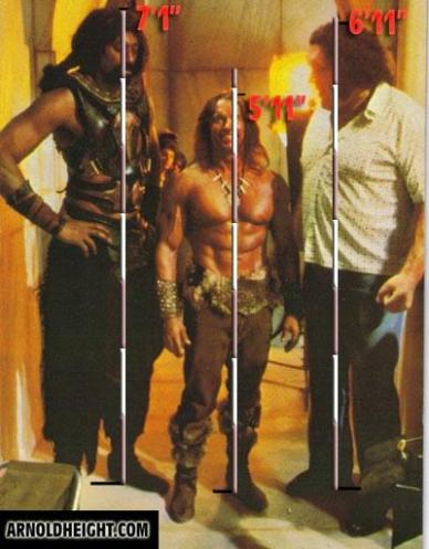 Conan, Dagoth (Andrè the Giant) e