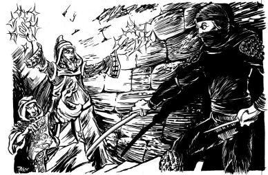 Gord da At Midnight Black Cat comes - Dragon 100