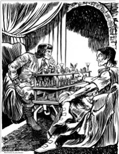 Gord e Chert giocano ai Grandi Scacchi - Dragon 100