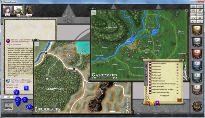 Un altro screenshot di Fantasy Grounds