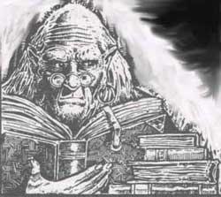 Una raffigurazione del Dio Hamaskis