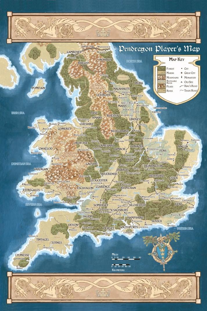 La Britannia arturiana di Pendragon