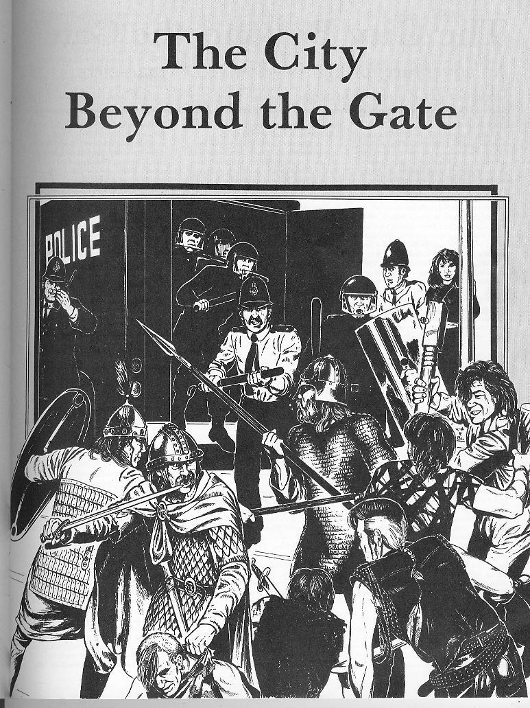 La copertina dell'avventura di D&D ambientata a Londra.