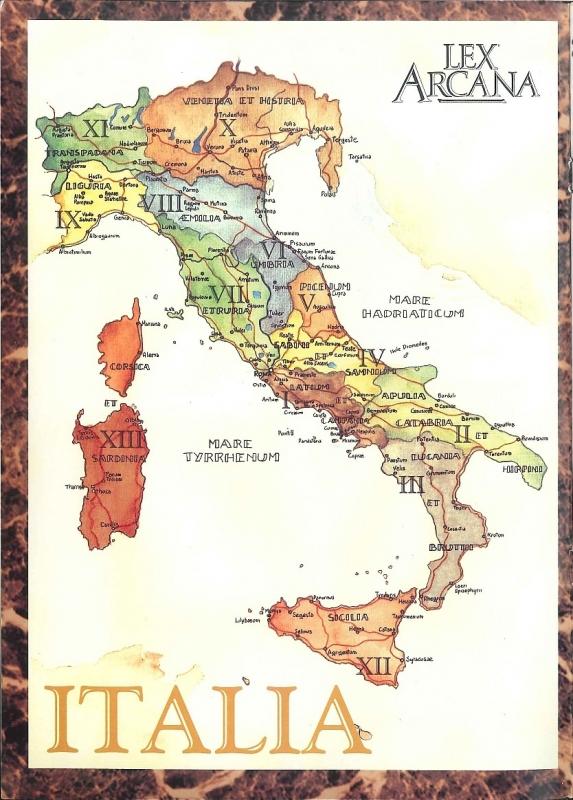 L'Italia di Lex Arcana