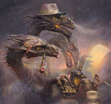 640x601_13925_Dragon_Writer_2d_fantasy_illustration_dragon_writer_picture_image_digital_art