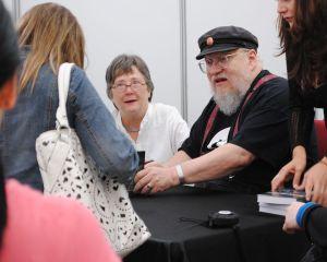 George Martin e Lisa Tuttle, che nella vita credo siano anche amici