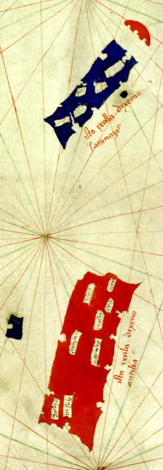 Pizzigano_1424_map_(Antilia_islands_detail)