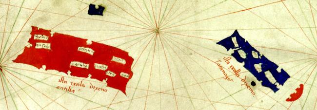sPizzigano_1424_map_Antilia_islands_detail2