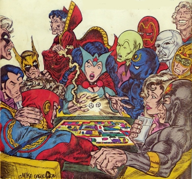 0- superheroes gaming