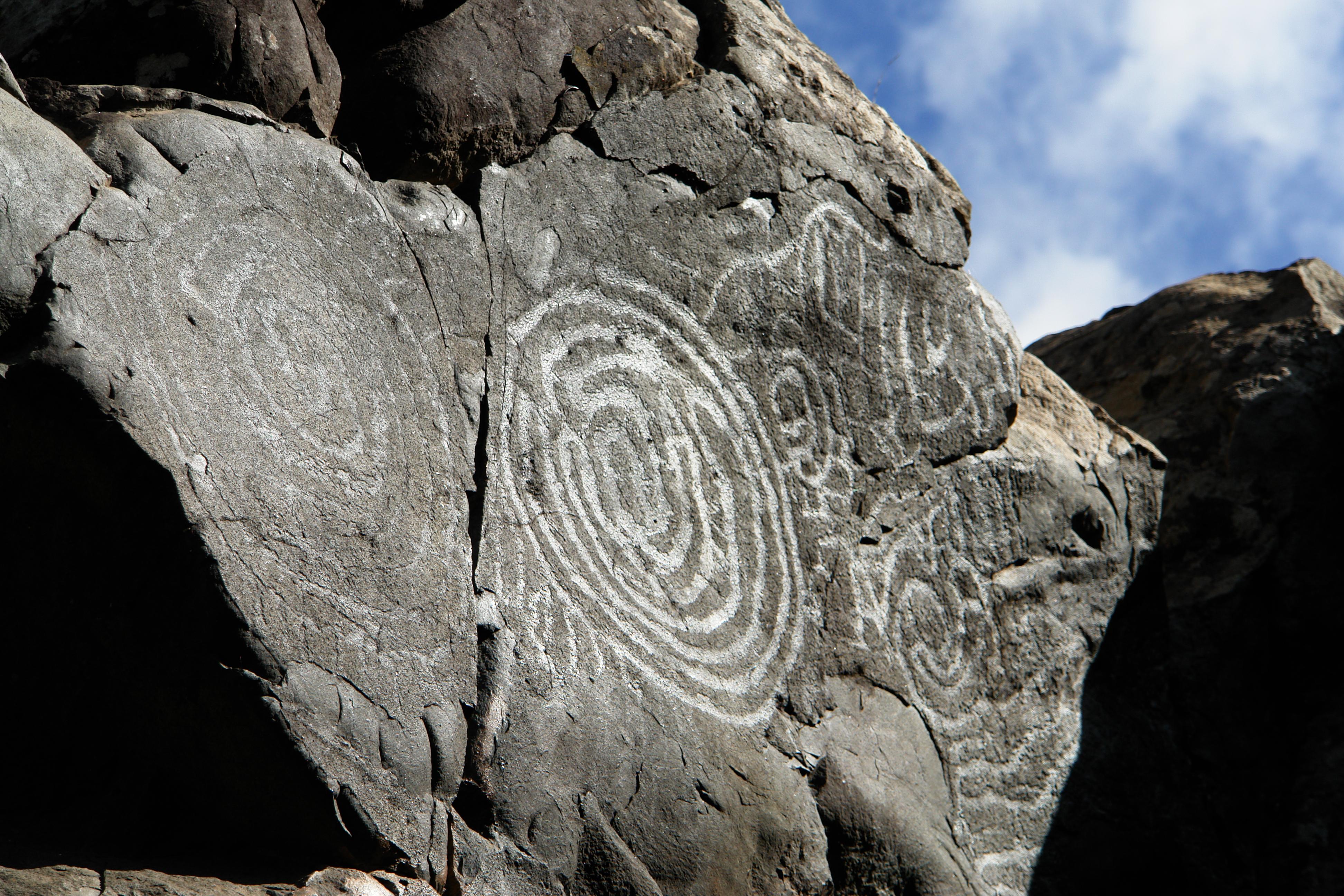 Petroglifi preistorici - fanno sempre effetto se si parla di misteri!
